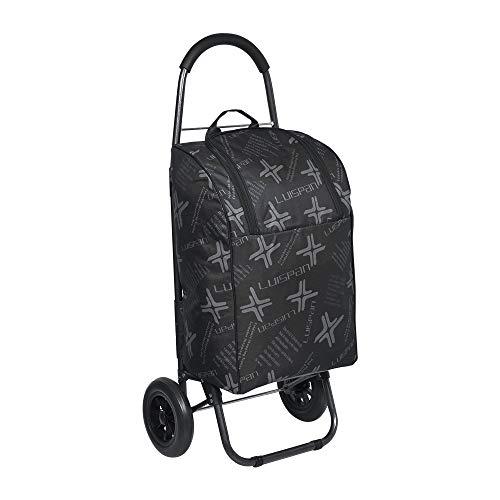 HomeSailing ショッピングカート 折りたたみ 買い物カート 買い物バッグ 防水 保冷 保温 軽量 高齢者 女性 荷物運搬 耐荷重50kg ブラック ショッピングキャリー