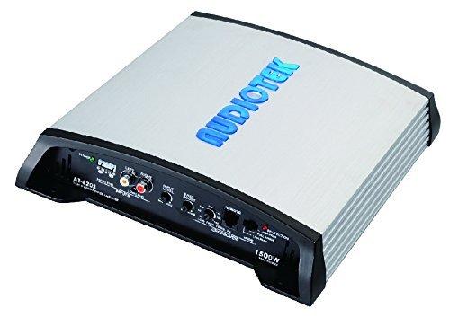 Audiotek at820s 2Canales Clase AB 2ohmios Estable 1500W Coche Amplificador de Potencia estéreo…