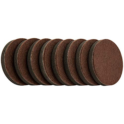 """SuperSliders 4722695N Reusable Furniture Sliders for Hardwood Floors Quickly and Easily Move Any Item, 2-1/2"""", Brown"""