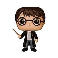 Figura de Harry Potter, de la serie Harry Potter Cada personaje mide 9 cm de altura aproximadamente Material 100% vinilo Viene embalado en una caja ilustrada y con ventanas Colecciona todos los POP! de Harry Potter