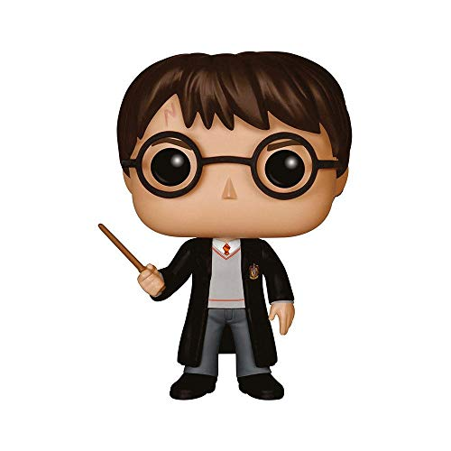Funko - Pop Vinilo Coleccion Harry Potter - Figura Harry Potter (5858) Multicolor, One Size