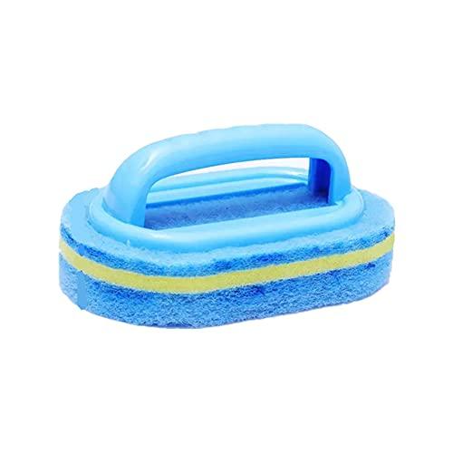 LITU Cepillo para Limpieza Cepillo para Baños, Cocinas y Hogar Limpia a Fondo Las Juntas de Las Baldosas y Azulejos 15.5 * 9.5 * 3CM Azul