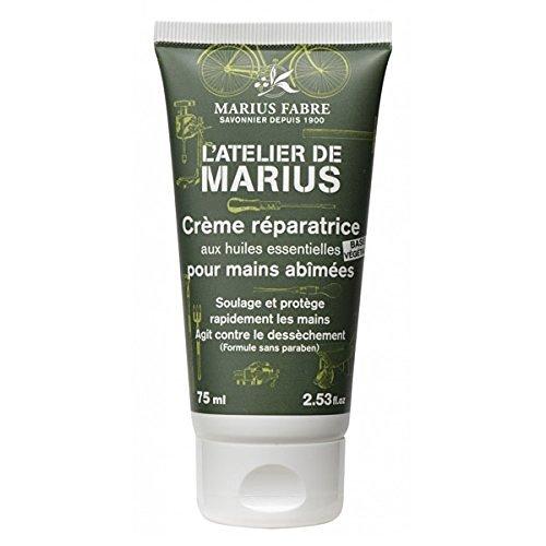 Marius Fabre Reparierende Handcreme 75 ml - mit essentiellen Ölen für beanspruchte Hände - ohne Parabene