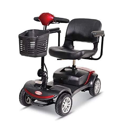 Kompakt Elektromobil/Mobilitätshilfe/Seniorenmobil SW1000S 6 KM/H Neu (Rot)