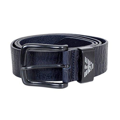 Armani Jeans Herren Gürtel blau blau Gr. 34W, blau