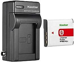 Kastar Battery + Charger Replacement for Sony CyberShot DSC-N1 N2 DSC-T100 DSC-T20 DSC-W170 DSC-W210 DSC-W220 DSC-W230 DSC-W290 DSC-W30 DSC-W35 DSC-W40 DSC-W50 DSC-W55 DSC-W70 DSC-W80 DSC-W85 DSC-W90