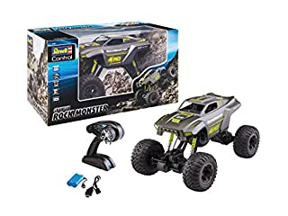 Revell Control 24462 RC Crawler Rock Monster, 2.4 GHz Remote Control, Proportional, Height-Adjustable Landing Gear, Left and Right Hand Remote Control Car, 43cm (B07SR58BZH)   Amazon price tracker / tracking, Amazon price history charts, Amazon price watches, Amazon price drop alerts