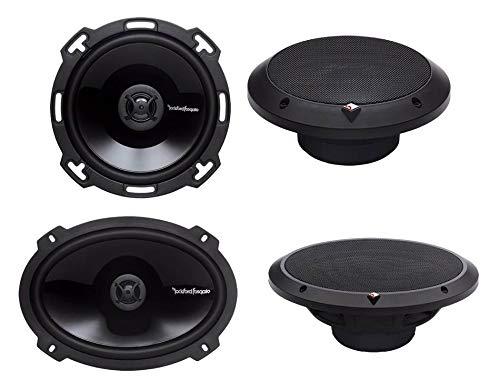 Kicker 40CS654 Pair of 6.5 300 Watt 4 Ohm Coaxial Speakers W// Grills Consumer Portable Electronics//Gadgets