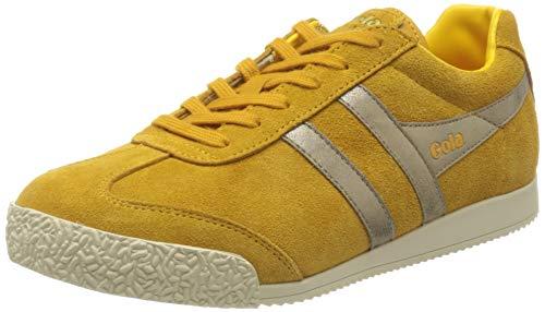 Gola Damen Harrier Mirror Sneaker, Gelb (Sun/Gold Yy), 38 EU