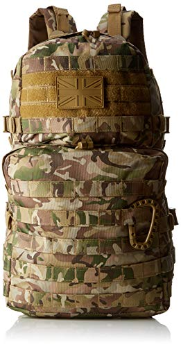 Kombat UK MOLLE Assault Pack, Unisex, Molle, British Terrain Pattern