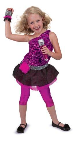- Pop Star Kostüm Mädchen