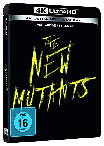 The New Mutants - 4K UHD Edition [Blu-ray]