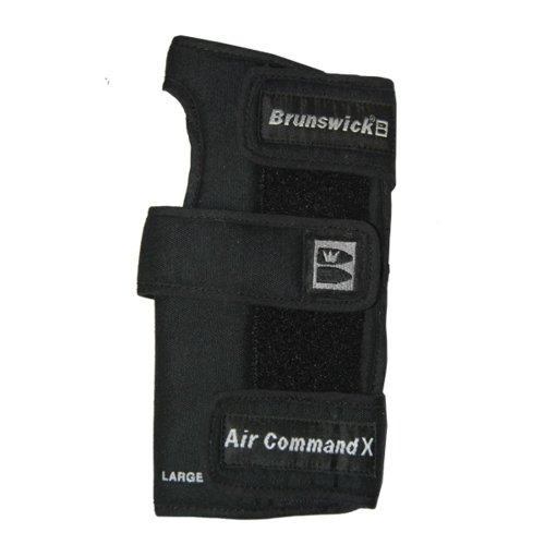 Brunswick Air Command X-Positionierungskissen für Bowling-Handschuh rechte Hand schwarz schwarz XL