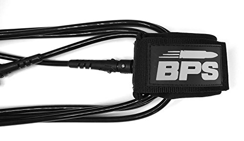 BPS 'Storm' Premium Surfboard Leash, Kink-Free Straight SUP Leash Surf Board Leg Rope Strap for Shortboard, Longboard… 3 THE COMPANY - Helping everyone to 'get out and do' is the reason Barrel Point Surf exists. Created by a Kiwi surfer and caring Dad who loves helping others get out onto and into the water, we're a Mom & Pop business that began with us building surfboards in our garage. Now we are all about helping make water sports accessible, wherever you are in the world. Say yes to barrels, not barriers. THE PRODUCT - BPS 'Storm' Surf or SUP Leash is constructed with max-strength double stainless swivels, triple-wrap rail saver, and precision molded fittings. It's also designed with a super comfy embroidered collar and old-school key pocket. Select from 5 to 10 feet and 7.2mm or 8mm urethane cord. This premium leash is trialed, tested, and thrashed by BPS to make sure it's got what it takes and is built to last with its quality structure and features. HERE TO HELP - Once you've purchased, we'll email you an E-guide with instructions and visuals created by our team to help you install your leash quick-smart. Feel free to send us an email should you need further assistance and we'll respond right away.