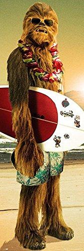 Close Up Star Wars Poster Chewbacca Surfin' (53cm x 158cm)