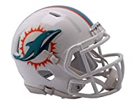 Riddell NFL Miami Dolphins Unisex Replica Mini Speed Stylemiami Dolphins Helmet Replica Mini Speed Style 2018, Team Colors, One Size