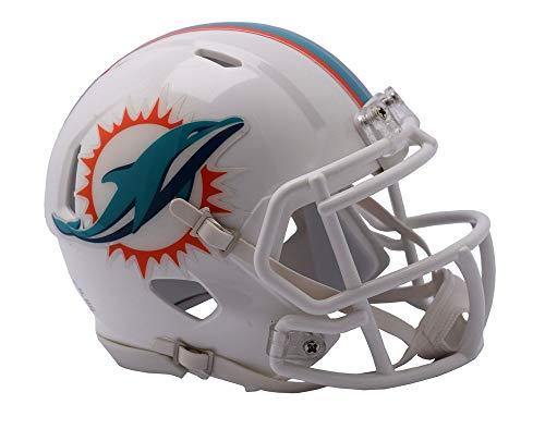 NFL Riddell Football Speed Mini Helm Miami Dolphins