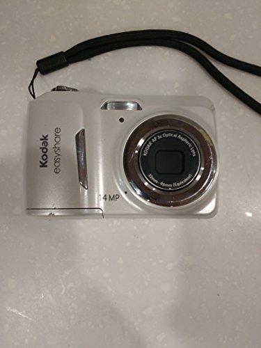 Kodak easyshare c1530 Digitalkamera (14 Megapixel, 3-facher optischer Zoom, 3 LCD-Displays) Weiß