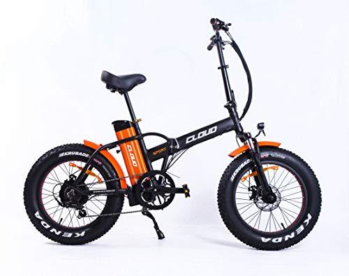 Cloud Bicicleta elétrica de montaña   Rueda Gorda   Plegable 250w   60 km autonomia