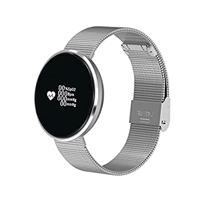 Bluetooth Smart Watch Message Remind,Heart Rate Monitor,Pedometer Android Samsung iOS