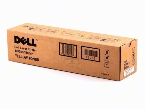 Dell 593-10066 3000cn, 3100cn Tonerkartusche gelb Standardkapazität 2.000 Seiten 1er-Pack