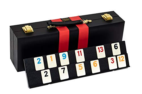 Borough Park Deluxe Rummy Game Set with Large Numbers
