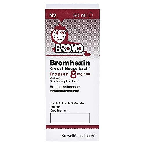 Bromhexin Krewel Meuselbach Tropfen 8mg/ml, 50 ml