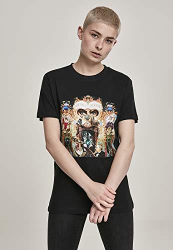 MERCHCODE T-Shirt Michael Jackson Dangerous pour Femme XL Noir