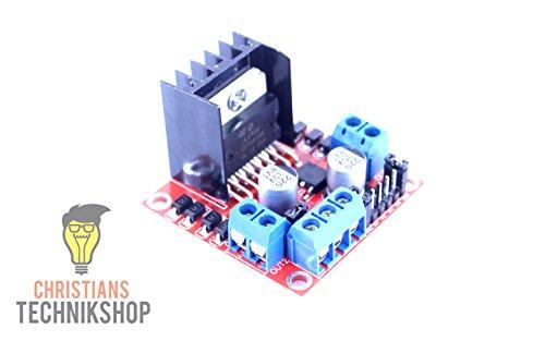 Christian's Technik Shop L298N Motor Treiber   1x Schrittmotor oder 2X DC-Motor   5V-35V 2A 25W