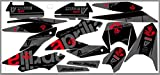 Adhesivo decorativo negro mate para Aprilia SX RX 125 2018