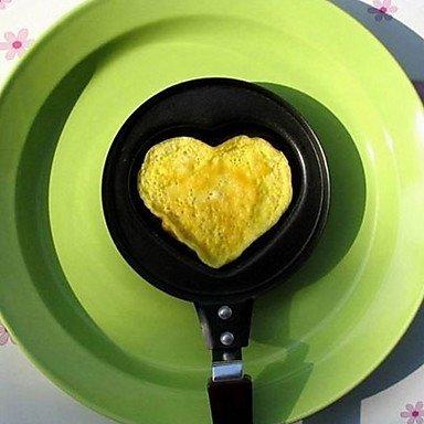 Mini Cute BBQ Outdoor Heart Shaped Non-stick Best Egg Fry Frying Fried Pan Omelette Pancake Housewares Kitchen Cauldron Cooking Pot