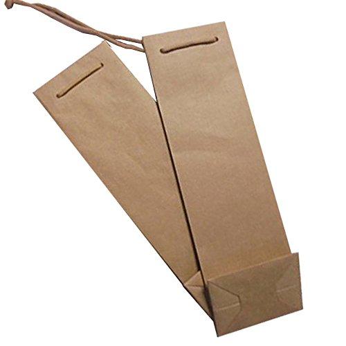 40 bolsas para botellas (1 botella) con cordón estuche de papel regalo vino 75 cl caja para botellas. Caja de papel