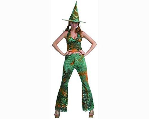 Carnaval Disfraz bruja del bosque