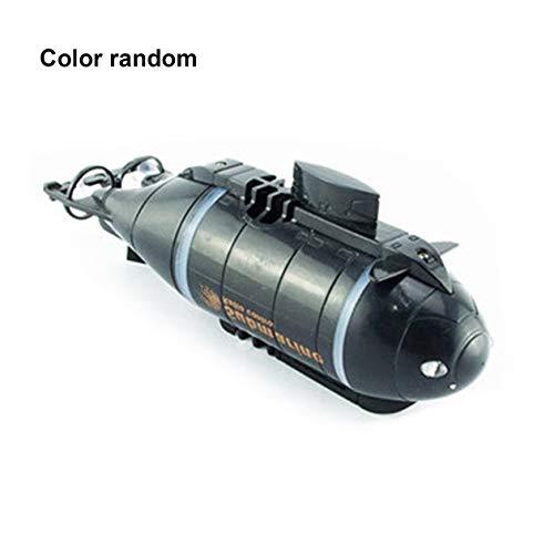 Juguete modelo submarino de barco de control remoto inalámbrico de seis canales BIYI (aleatorio)