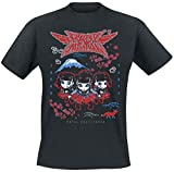 Babymetal Pixel Tokyo Männer T-Shirt schwarz XL 100% Baumwolle Band-Merch, Bands