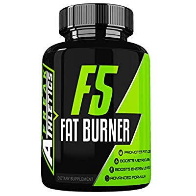 F5 Fat Burner - Elite Level Fat Burner by Freak Athletics - Fat Burners Suitable for Both Men & Women - 90 Capsules - Made in The UK High Quality Guaranteed - Includes Free Workout Program