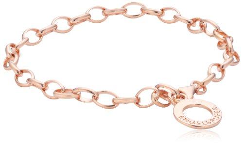 Engelsrufer Armband für Damen rosévergoldetes 925er-Sterlingsilber Länge 19,5 cm