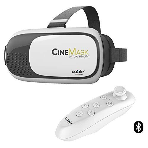 CINEMASK VIRTUAL REALITY, OCCHIALI VISORE 3D PER SMARTPHONE TRA 4,7