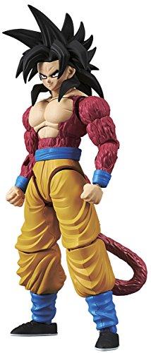 Bandai Hobby Goku Super Saiyan 4 Model Kit 14 cm Dragon Ball GT Figure-Rise Standard 84086P, Color (BDHDB144977)