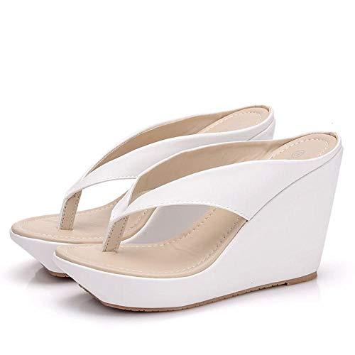 SARUI Chanclas para Mujer Sandalias de Verano para Mujer Tacones Altos Zapatos...