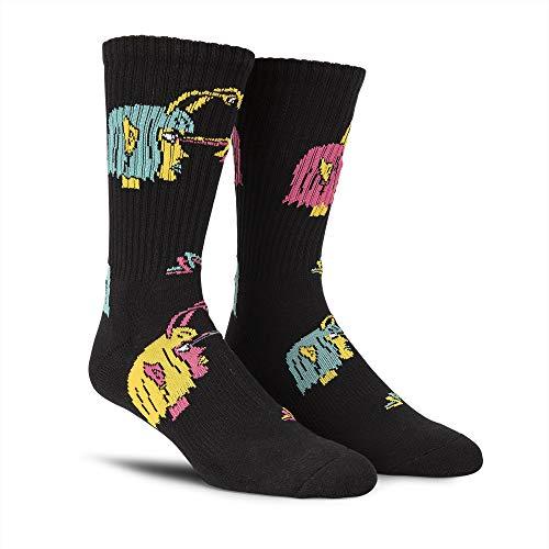 Volcom OZZY Sock Calcetines, Hombre, Black, O/S