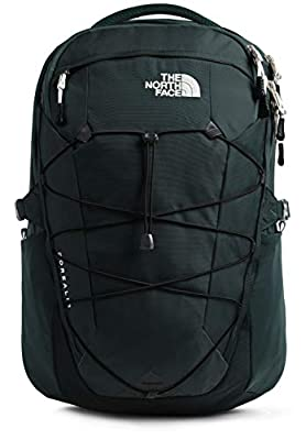The North Face Borealis Men's Backpack, Ponderosa Green/TNF Black, One Size