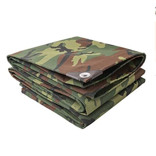 qx Tarpaulin Tent Tarps Shade Sails Tarpaulin Canvas Thick Waterproof Awning Cloth Rain Cloth Outdoor with Buttonhole Tarpauliner (Size : 2 X 4M),2 X 4M,2 X 4M