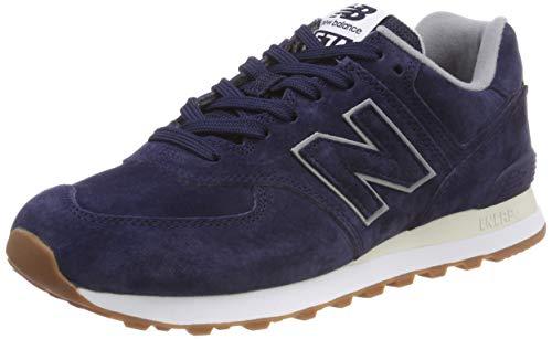 New Balance 574, Zapatillas para Hombre, Azul (Pigment EPA), 41.5 EU (Talla Fabricante: 7.5 UK)