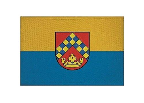 U24 Aufnäher Kirchberg (Hunsrück) Fahne Flagge Aufbügler Patch 9 x 6 cm