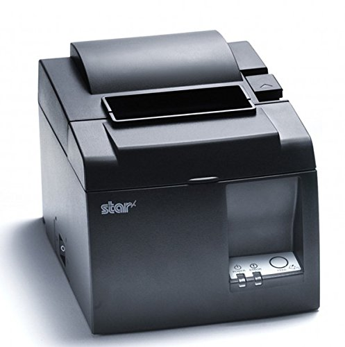 Star Micronics TSP143LAN Térmica Directa POS Printer 203 x 203DPI - Terminal de Punto de Venta (Térmica Directa, POS Printer, 125 mm/s, 203 x 203 dpi, 7,2 cm, Gris)