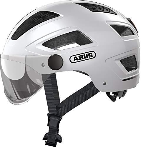 ABUS Hyban 2.0 ACE Stadthelm - Robuster Fahrradhelm für den Alltag mit ABS-Hartschale - für Damen und Herren - 86997 - Weiß, Größe M