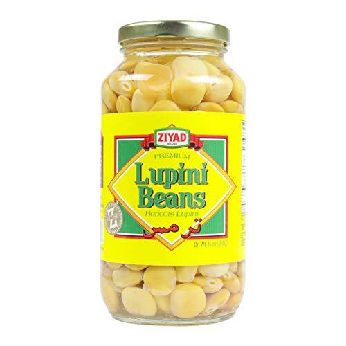 Ziyad Brand Premium Lupini Beans Snack, High Plant Protein, Keto, Mediterranean Diet, Non Perishable, Vegan, Vegetarian, 16 oz