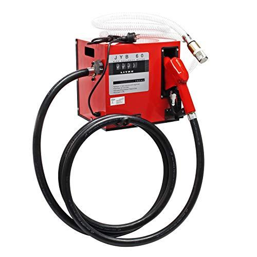 Selbstansaugende Dieselpumpe, 60 l/min 550W 230V, Abschaltautomatik