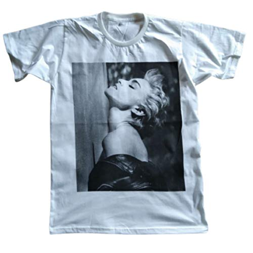 Unisex Madonna True Blue T-Shirt, Brown or White, S, M, L, XL